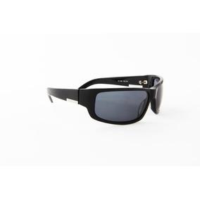 Óculos De Sol Victor Hugo Acetato Preto Lente Preta