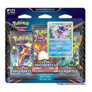 Pokemon Blister Triplo Ee4.5 Destinos Brilhantes
