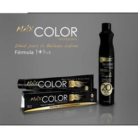 2 Tinte Profesional Max Color 90g Con Peroxido