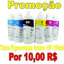Tinta Pigmentada Hp 100ml Hp Pro 8000, 8100, 8110, 8500, 8