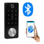 Cerradura Smart T11b Bluetooth Huella Tarjeta Exterior Codig