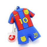 Pendrive Personajes - Camiseta Barcelona Messi 16gb