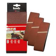 Pack Set De 3 Lijas De Banda 100 X 915mm Einhell Tc-us 400