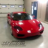 Replica Ferrari F430 + 4cc + Ar + Dm + Doc Nome Do Cliente