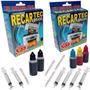 Kit Recarga Cartucho Preto E Color Hp 21 122 60 662 61 901