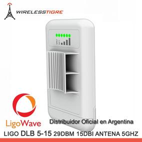 Ligowave Cpe Cliente Dlb 5-15 5.8ghz 15dbi 29dbm No Ubiquiti