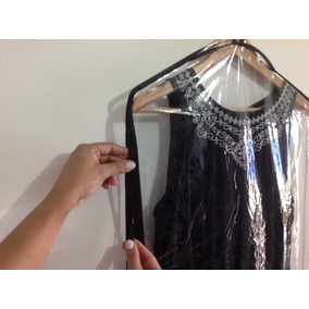 100 Capas Vestidos De Festa Com Zíper E Frente Transparente