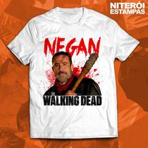 Blusas The Walking Dead Negan Poliéster (vários Modelos)