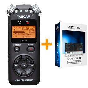 Tascam Dr05 Version 2 Grabador Digital Portatil+ A L Lite 3