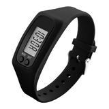 Relógio Pedômetro Contador Passos Distância Esporte Calorias