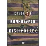 Discipulado Livro Dietrich Bonhoeffer Frete Grátis