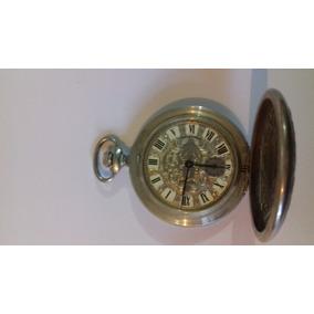 Reloj Antiguo De Bolsillo Longines Plata