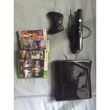 Xbox 360 250 Gb + Kinect + 4 Juegos + Trafo Vendo Urgente !!