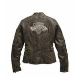 Jaqueta Couro Orignal Harley Davidson Femina 97052-15vw Xl