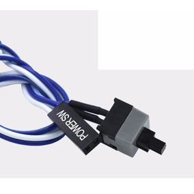 Boton Interruptor Cpu Pc On/off Adaptador Cable Btc Power Sw
