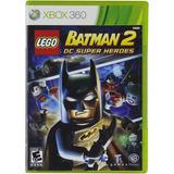 Lego Batman 2 Dc Super Heroes Fisico Xbox 360 New Full Gamer