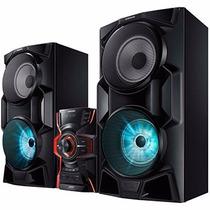Mini System Samsung Mx-hs6500 Bluetooth Led 2000w Vitrine