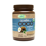 Aceite De Coco Orgánico Extra Virgen - 1 Litro