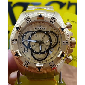 8add58ee65d Relógio Invicta Reserve Excursion Edition Ouro 18k 6248 - Relógios ...