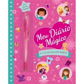 Meu Diário Mágico - Com Caneta Especial