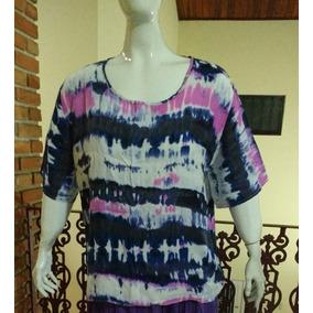 Camiseta Blusa Estampada Plus Size