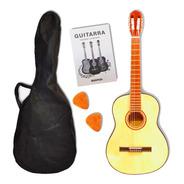 Guitarra Criolla Clasica Con Funda Varios Colores
