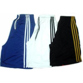 Calção Com Bolso Bermuda Shorts Treino Promoção Futebol