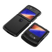 Funda Hobetre Motorola Razr 5g 2020 Shockproof  Carbon
