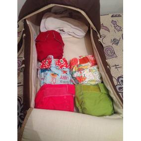 Paquete De Moisés Y 5 Pañales Ecológicos Con 3 Repuestos