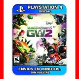 Plants Vs Zombies Ps4 Garden Warfare 2 :: Digital Español::
