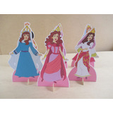 Kit Princesas Bíblicas,10 Display De Mesa De 15 Cm,festa