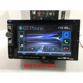 Auto Estereo Dual Pantalla Dvd Cd Bluetooth Usb Aux Mp3 Sin