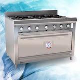 Cocina Morelli Basic Mr Cheff 1100 4 Hornallas + Plancha