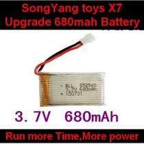 1 Bateria Potente 680mha Drone Intrude H18,drone Da Candide,