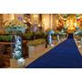 Passadeira Tapete Marinho Para Casamento, Festas 10 Metros