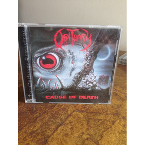 Obituary ¿ Cause Of Death Cd Death Metal