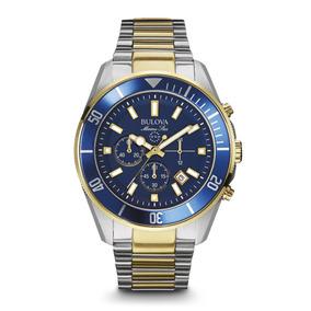Reloj Bulova Marine Star 98b230 Entrega Inmediata