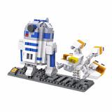R2d2 Star Wars Envío Gratis! Miniblocks Loz Armables 3d