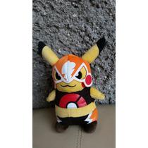 Pokemon Pikachu Disfraz Luchador.