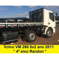 Volvo Vm 260 4* Eixo 8x2 Bitruck + Carroceria 2429 2425 1620