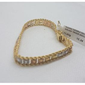 223c512c07a Pulseira De Ouro 750 Grossa - Joias e Relógios no Mercado Livre Brasil