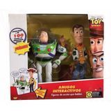 Toy Story Buzz Lightyear Woody Amigos Interactivo 100 Frases
