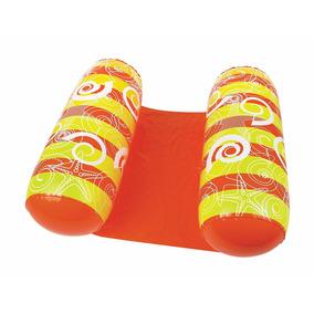 Silla Inflable Para Alberca Naranja *envío Gratis