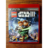 Lego Star Wars 3 The Clone Wars Playstation 3 Ps3 !!