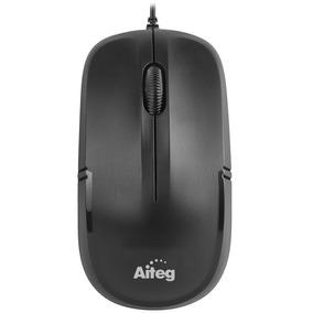 Mouse Óptico Usb Aiteg Dlm-136bu + Garantía