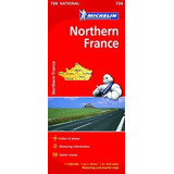 Michelin France, Northern National Map 2015