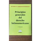 Principios Generales Del Derecho Latinoamericano- Rabinovich