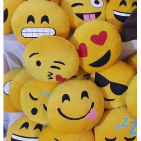 Almohadón Emojis Emoticones 24 Cm Egresados, 15 Años, Cumple
