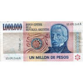 Lucas Col Argentina Billete 1.000.000 Pesos A Bot 2513