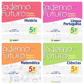 Kit Caderno Do Futuro 5 Ano Do Professor